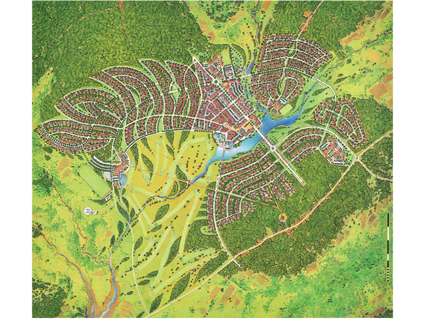 mape town site map
